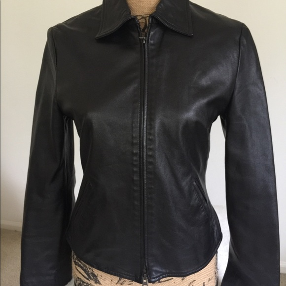 Mango Jackets Coats Mng Genuine Leather Jacket Poshmark